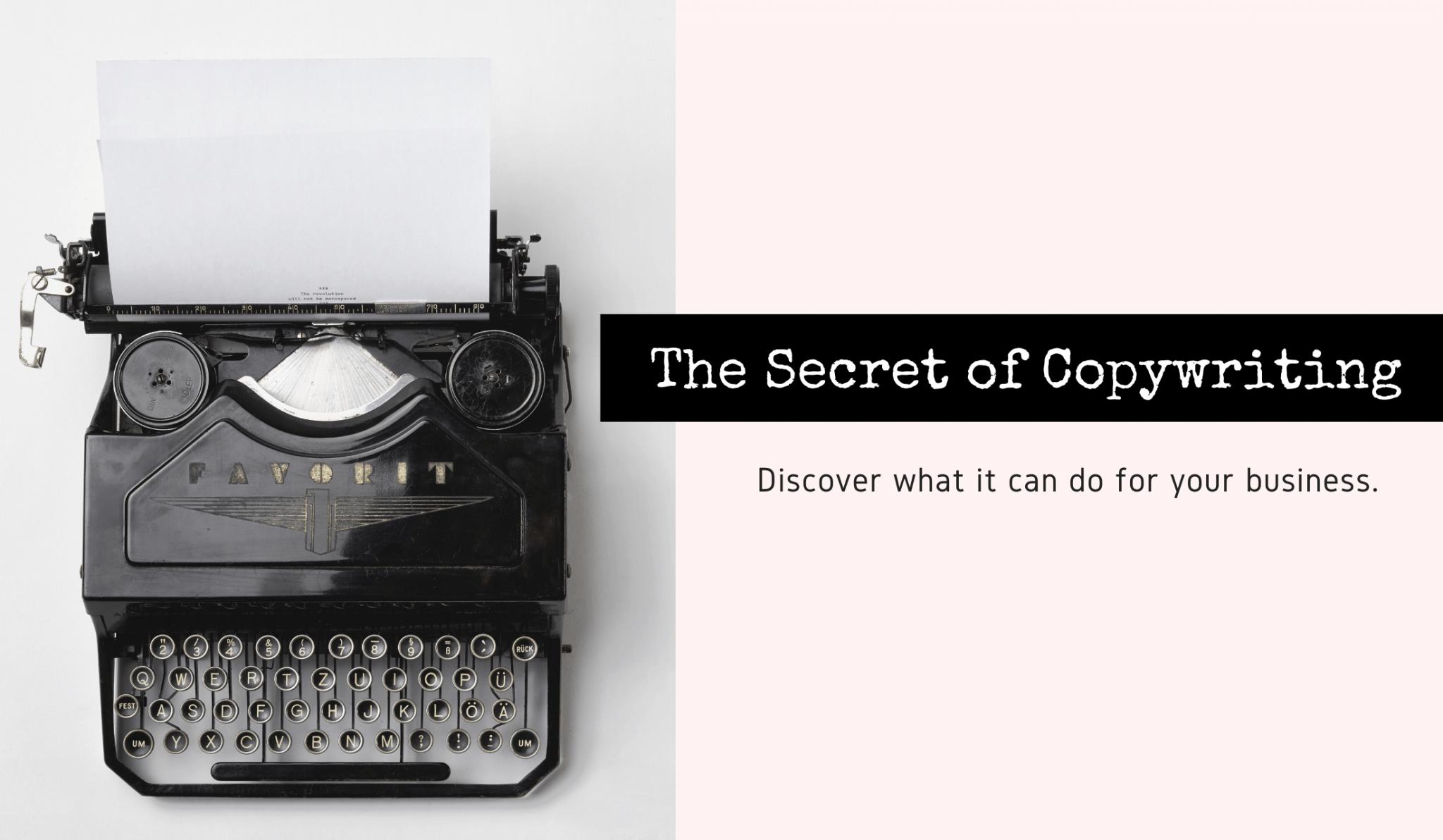 The Secret of Copywriting