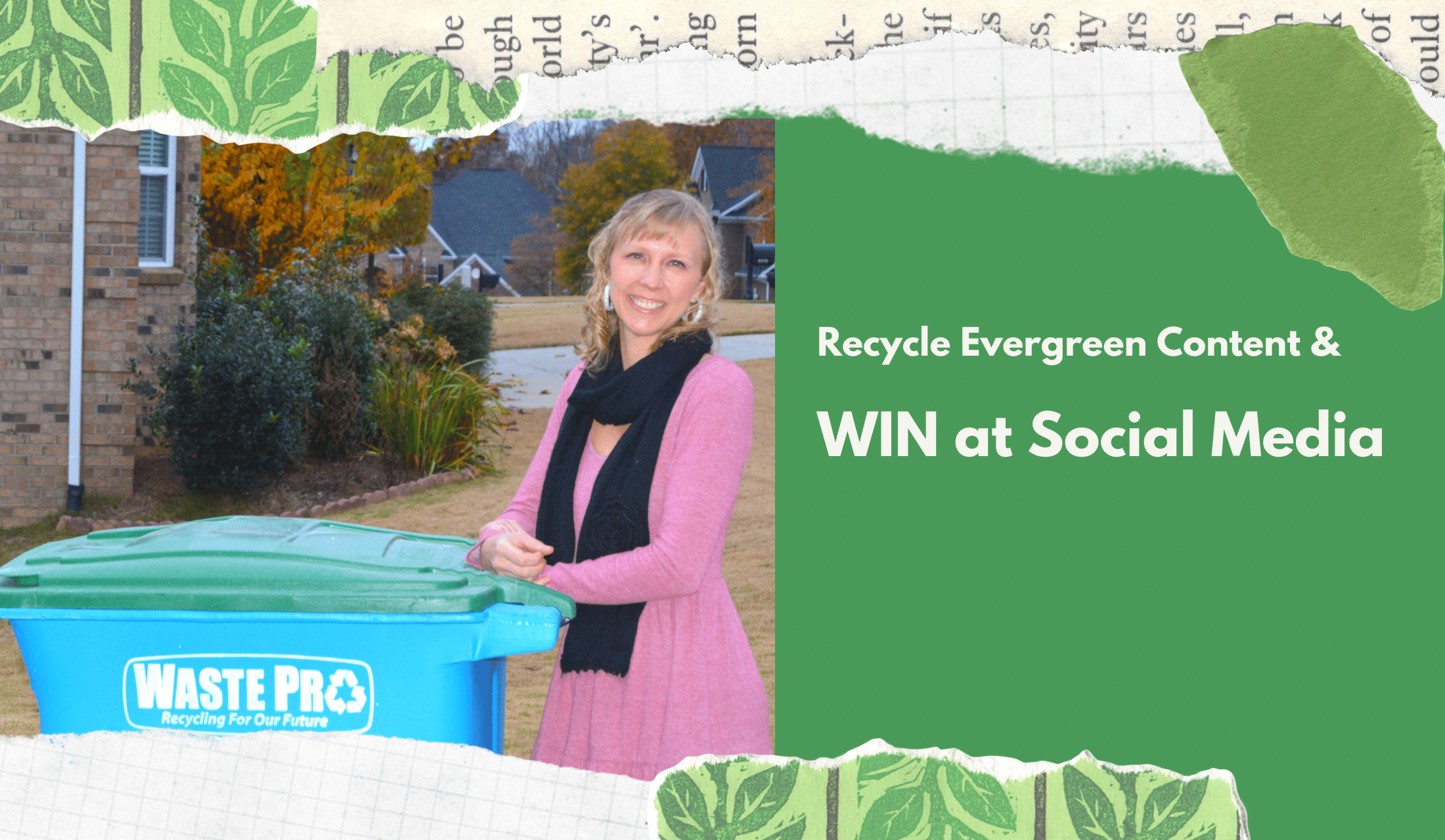 Recycle content and make social media content creation easy